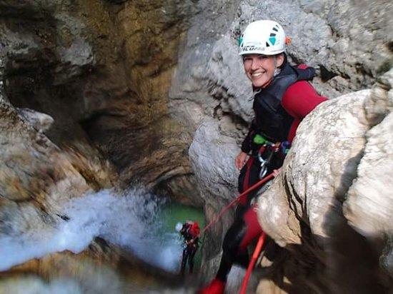 Canyoning ve Slovinsku