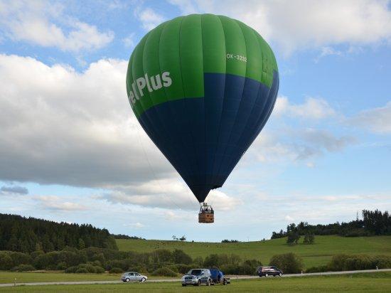 Let balónem v Roudnici nad Labem