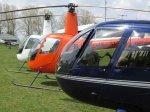 Let vrtulníkem Sazená