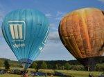 Let balónem v Pardubicích