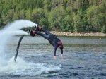 Flyboarding zážitek