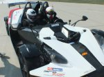 Jízda v KTM X-Bow
