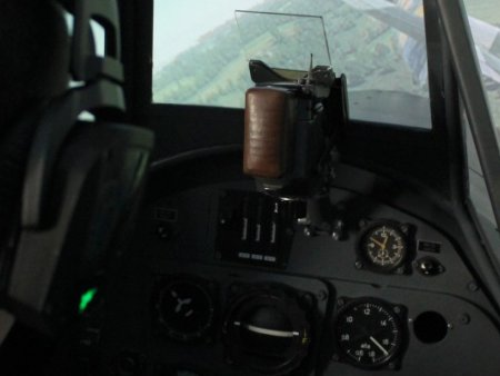 Simulátor Messerschmitt
