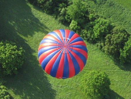 Let balónem Miličín