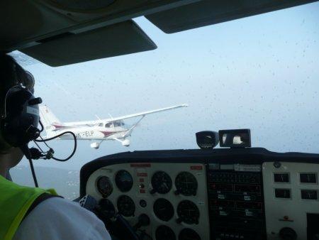 Pilotem letadla v Ostravě