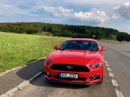Ford Mustang Český Krumlov