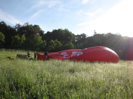 Let balónem v Uherském Hradišti