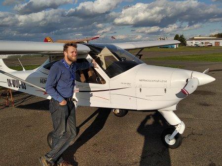 Pilotem letadla na zkousku v Ostravě