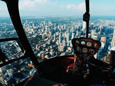 Pohyblivý simulátor vrtulníku