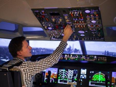 Simulátor Boeingu Brno