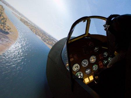 Simulátor stíhačky Spitfire