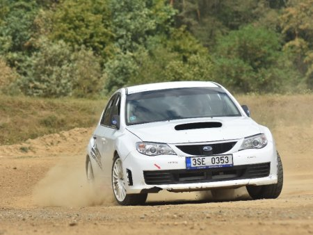 Rallye zážitek v Subaru